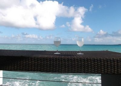 Drinks in the Bahamas